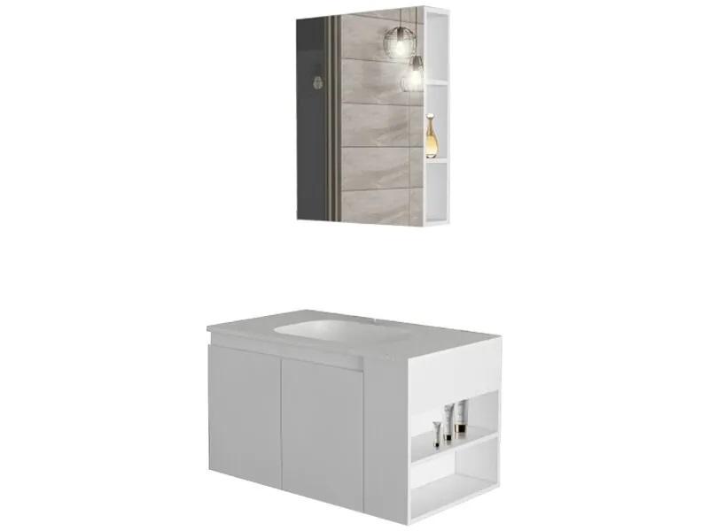 Комплект мебели за баня Плейн